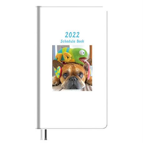 【予約販売】 フレンチブルドッグ torus トーラス 2022年 ポケットサイズ スケジュール帳 PO2214