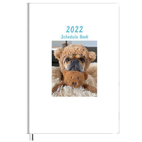 【予約販売】 フレンチブルドッグ torus トーラス 2022年 B5スケジュール帳 B52213