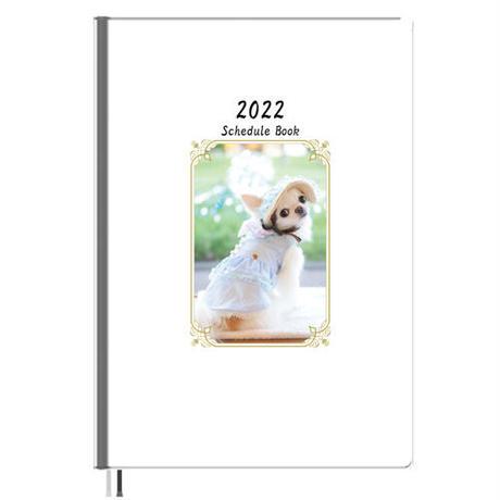 【予約販売】 チワワの雪 2022年 A5スケジュール帳 A52235