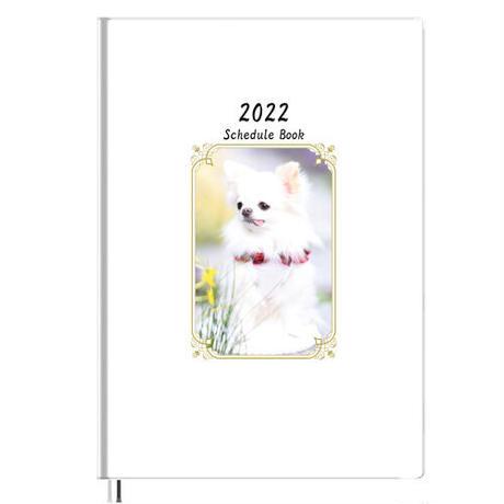 【予約販売】 チワワの雪 2022年 B5スケジュール帳 B52236