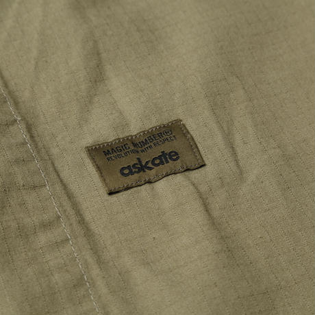 askate MAGICNUMBER Cotton Ripstop BDU Shirts Olive