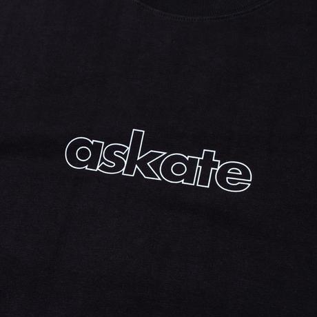 askate Edge Logo S/S Tee Black
