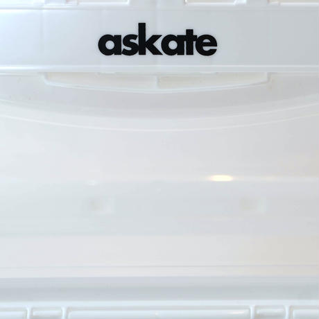 askate Novelty Logo Container White