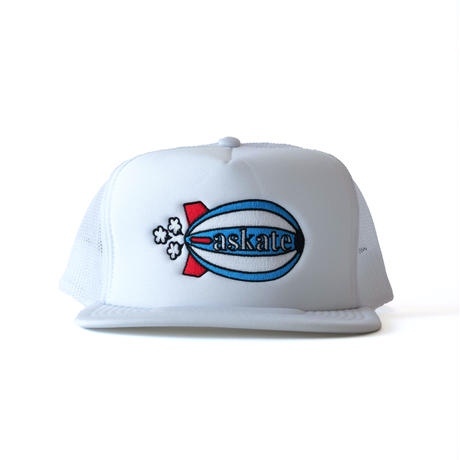 askate Blimp Trucker Cap White