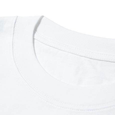 askate Edge Logo S/S Tee White