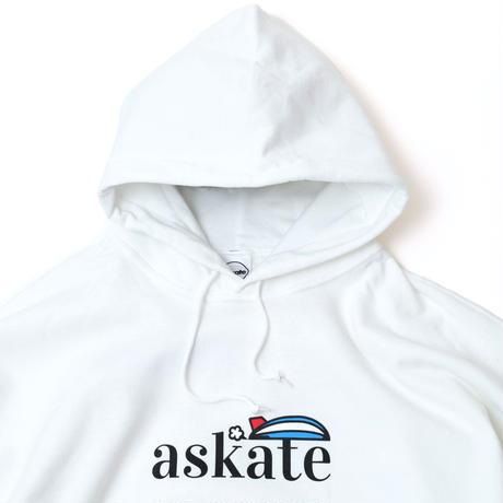 askate Blimp P/O Hoodie White