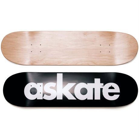askate Novelty Logo Deck