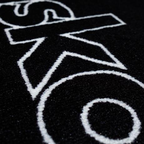 askate Edge Logo Rug Mat Black