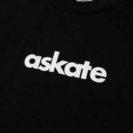 askate Kids Logo S/S Tee Black