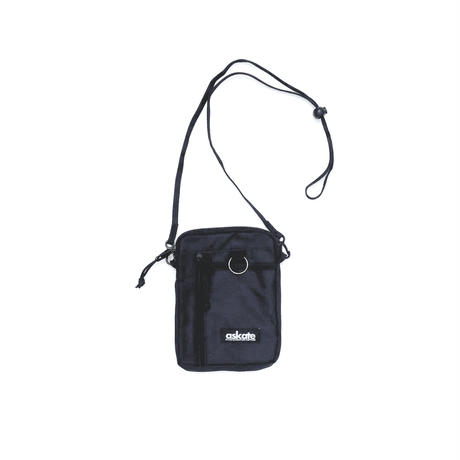 askate Slyde Shoulder Pouch Black