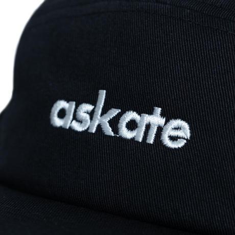 askate Logo Camp Cap Black