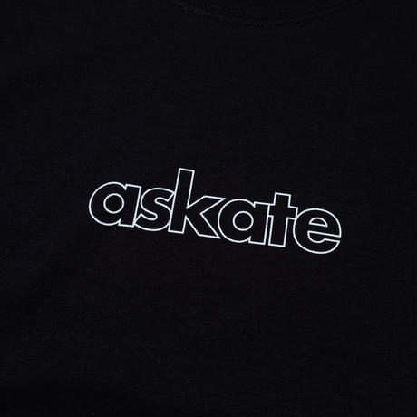 askate Edge Logo L/S Tee Black