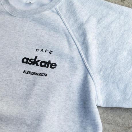 Cafe askate CrewNeck AshGrey