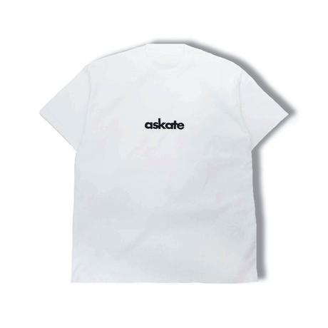 askate Logo S/S Tee White