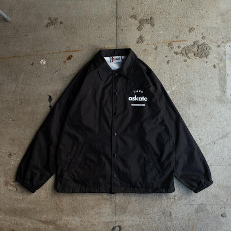 Cafe askate Coach Jacket Black