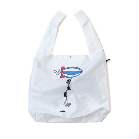 askate Blimp Shoulder Eco Bag White