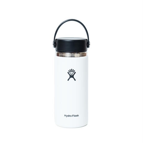 askate HydroFlask Wide Mouth White