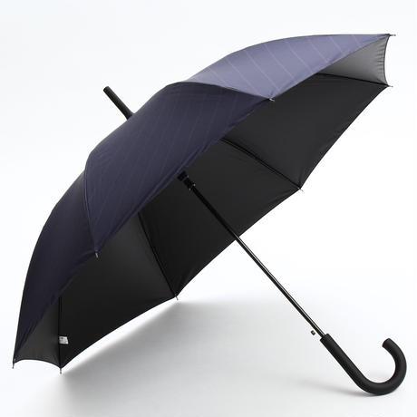【a.s.s.a】FJ167  メンズ日傘  完全遮光 100cm (ネイビー・ブラック)