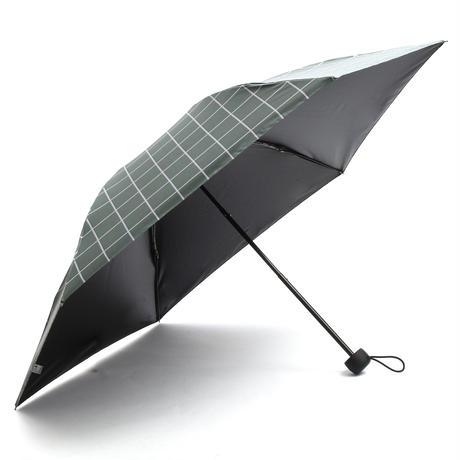 【a.s.s.a】FM169 メンズ折りたたみ日傘 完全遮光 100cm (グリーン・ネイビー)