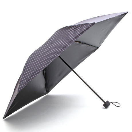【a.s.s.a】FM172 メンズ折りたたみ日傘 完全遮光 100cm (ネイビー)