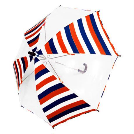 【a.s.s.a】RKL103 ダブルボーダー キッズ雨傘