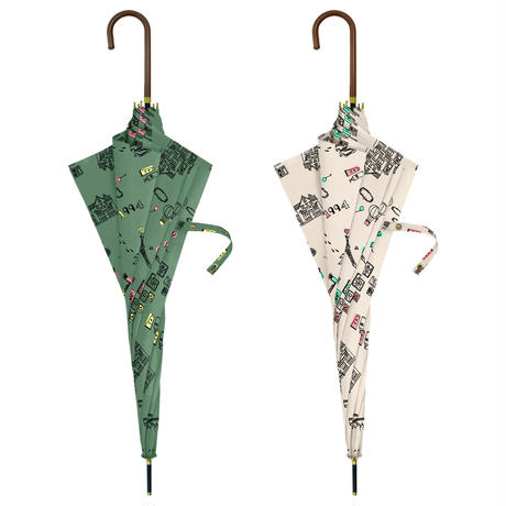 【a.s.s.a】RL110 ホリデー 雨傘