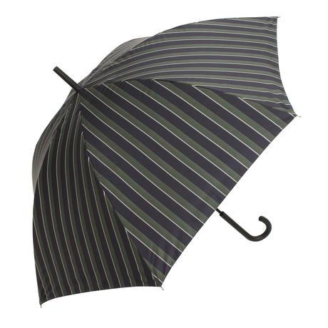 【a.s.s.a】ARL260 ジュールストライプ メンズ晴雨兼用傘  (ネイビー・グレー)