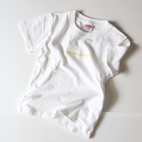刺繍ロゴTシャツ(キッズサイズ)