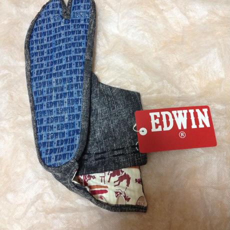 ざまぁみろ!×EDWINコラボ デニム足袋