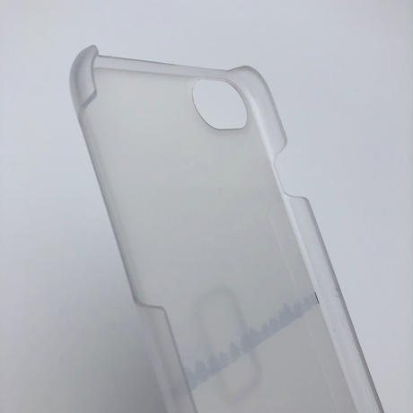 iphoneケース for X / XS( Asteriscus × Wakako Kikuchi ) こおり-18B