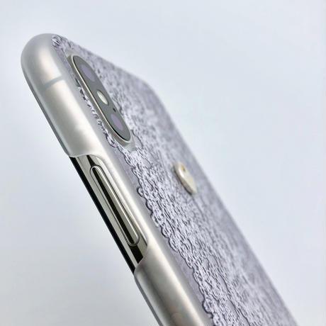 iphoneケース for X / XS  パイソン × Inscribed イニシャル