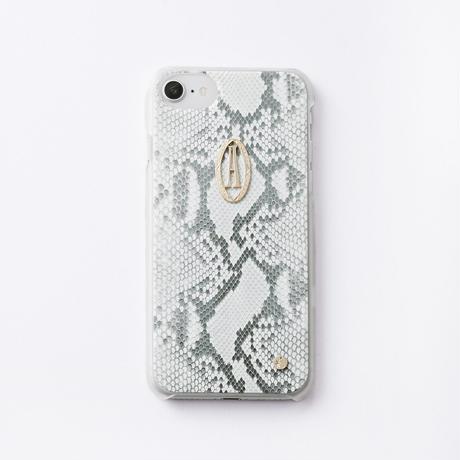 iphoneケース for6/7/8  パイソン× Relife イニシャル