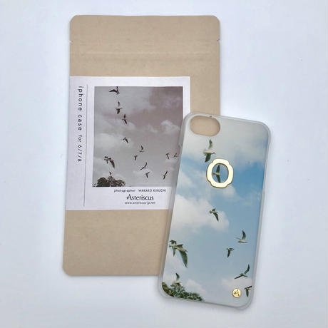 iphoneケース for7/8/SE  ( Asteriscus × Wakako Kikuchi ) とり-18