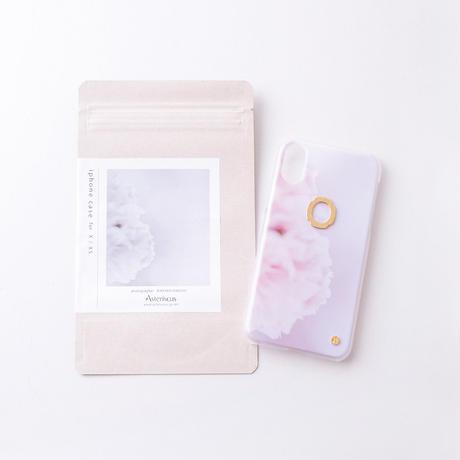 iphoneケース for X / XS ( Asteriscus × Wakako Kikuchi ) 芍薬