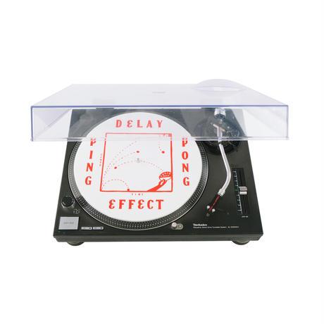 """CHALKBOY x astrollage 12"""" SLIPMAT DELAY(WHITE & RED)"""