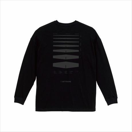 BTMKRS PAD LONG BLACK T-shirts(ink: DARK GRAY)
