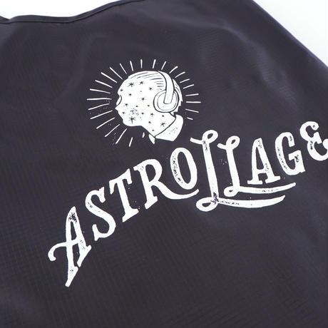 astrollage  SHOPPING BAG BLACK(ink: WHITE)