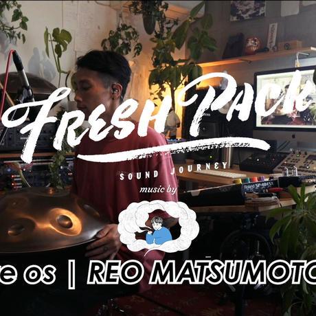 【セット割_送料無料】Fresh Pack Live volt 6 music by re os   REO MATSUMOTO & TOTE BAG SET(特殊パッケージ/完全限定盤CD)