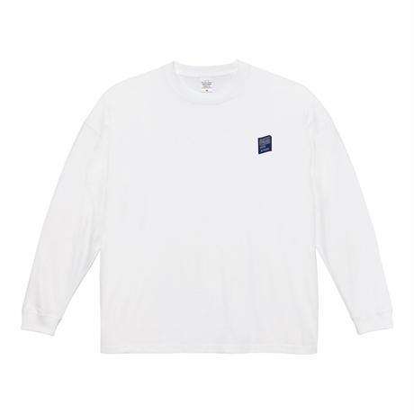 BTMKRS PAD LONG WHITE T-shirts(ink: NAVY)