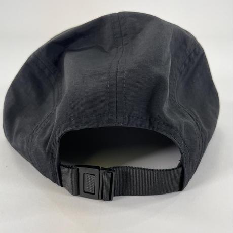 BTMKRS DIAGONALLY LOGO NYLON CAP(BLACK)
