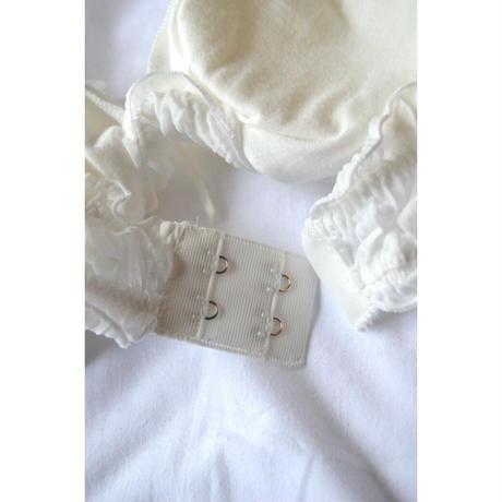pleats soft brassiere set