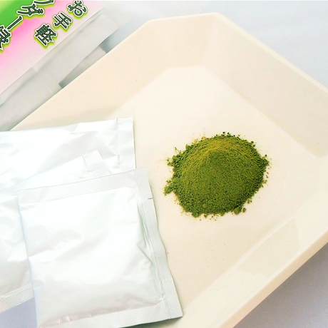 【送料無料 ポスト投函】お手軽パウダー緑茶【国産茶】【1~2ℓ用】