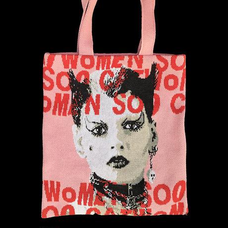 SOO CATWOMAN knit bag