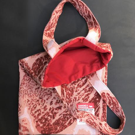 肉ニットバッグ MEAT tote bag