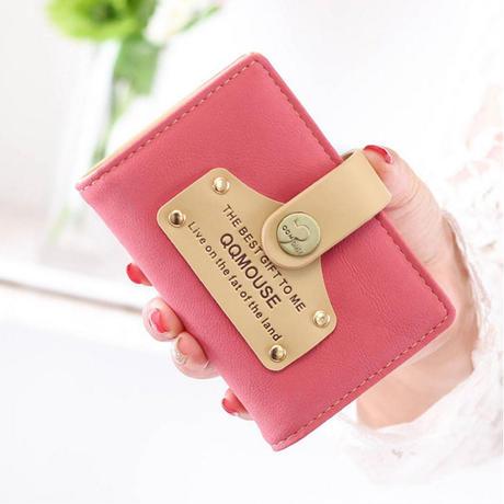 ★便利グッズ★ かわいい カードケース Pink ピンク