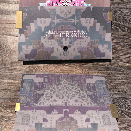 完成品【細密ポップアップカード】 アルトの祭壇-彩色