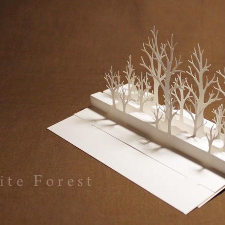 【工作キット】白の森 (切り込みスジ入れ済み)