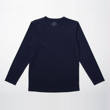 STELLAR CONFLICT天竺 L/S T-SHIRT NOBLE NAVY