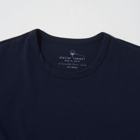 STELLAR CONFLICT天竺 S/S T-SHIRT  NOBLE NAVY