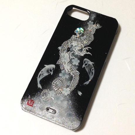 iPhone5/5Sケース 登龍門・漆黒